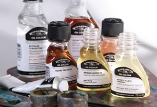Oils, Mediums, Varnishes & Solvents