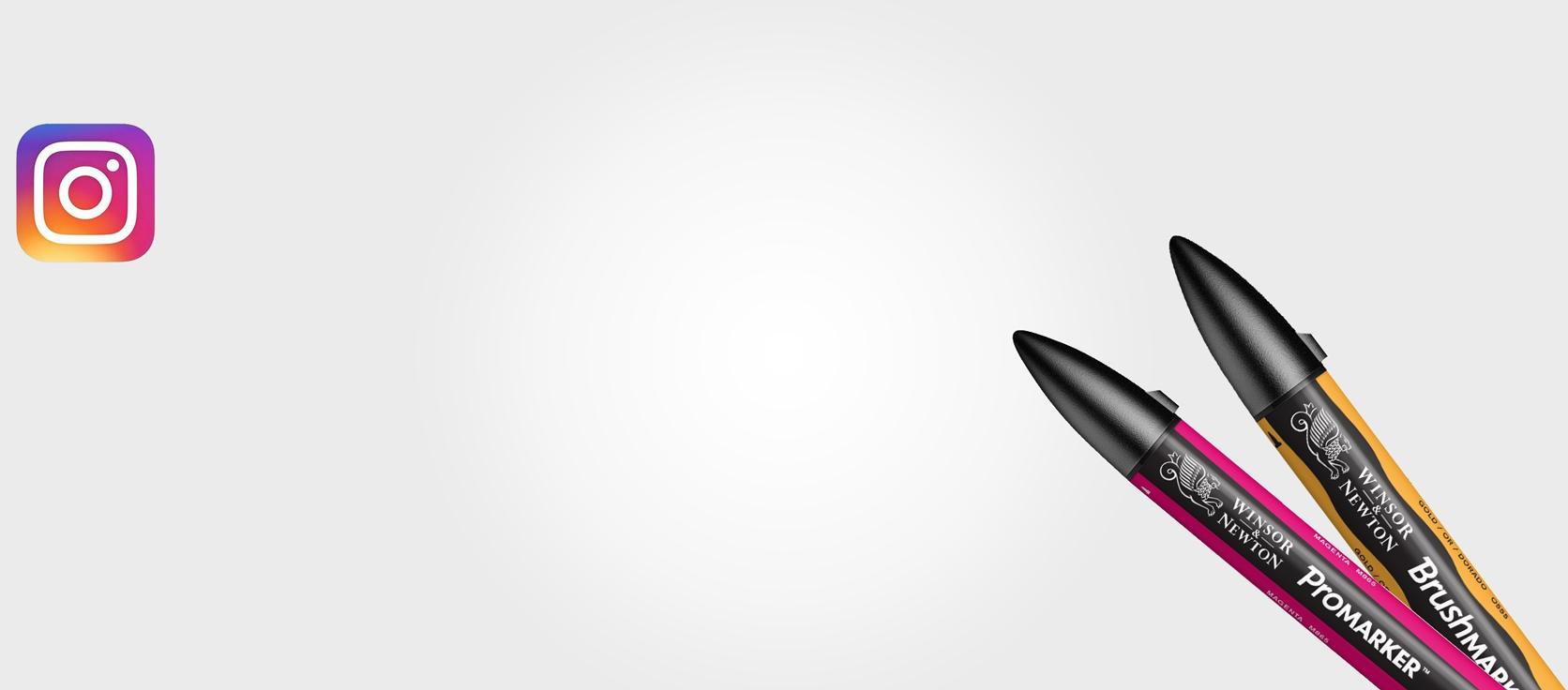 #InspiredByProMarker <br/> #WinsorNewtonChallenge <br/>