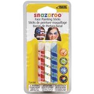 Rainbow Face Paint Sticks - Set of 3