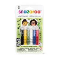 Rainbow Face Paint Sticks - Set of 6