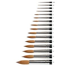 Series 7 Kolinsky Sable Brush - Round [Short Handle]