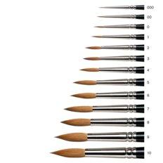 Series 7 Kolinsky Sable Brush - Round [Short Handle]