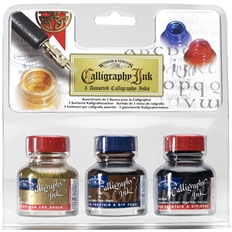 Calligraphy Inks - Calligraphy Ink 3 Assorted Set
