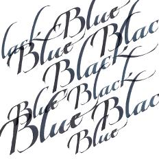 Calligraphy Inks - Blue Black