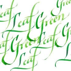 Calligraphy Inks - Leaf Green