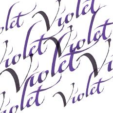 Calligraphy Inks - Violet