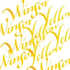 Calligraphy Inks - Winsor Yellow