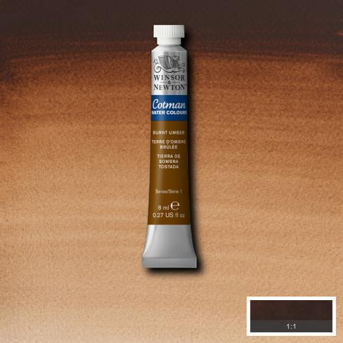 Cotman Water Colours Burnt Umber