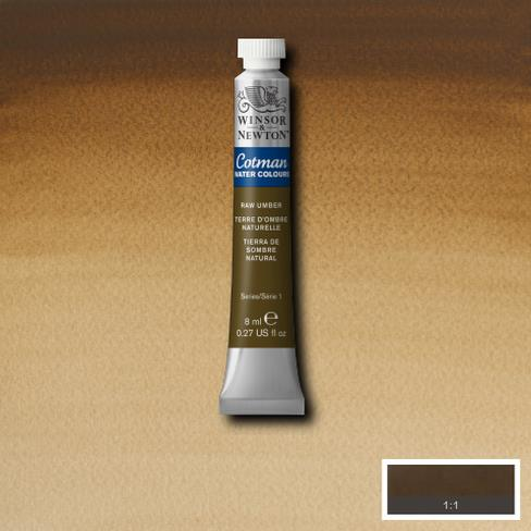 Cotman Water Colours Raw Umber