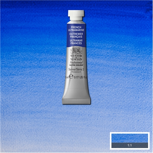 Professional Water Colour French Ultramarine