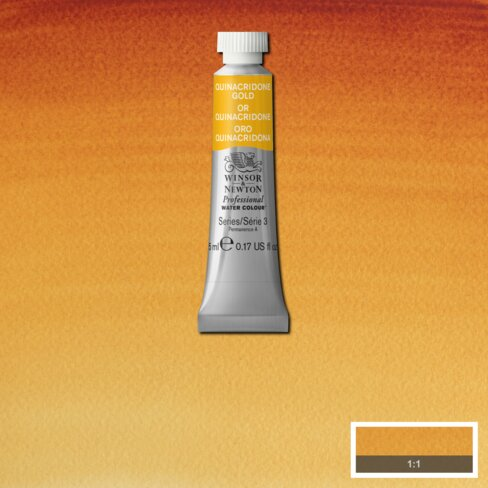 Professional Water Colour Quinacridone Gold