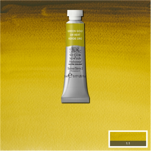 Professional Water Colour Green Gold