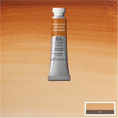 Professional Water Colour Brown Ochre