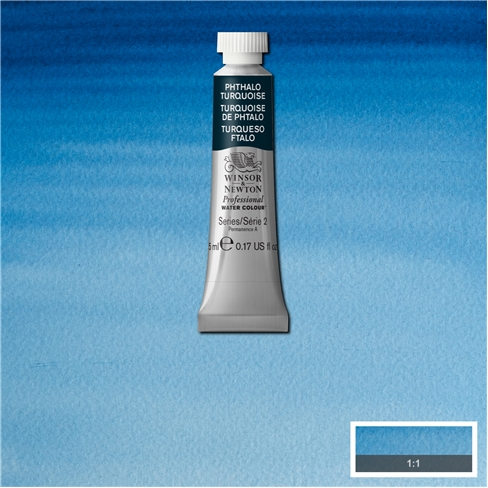Professional Water Colour Phthalo Turquoise