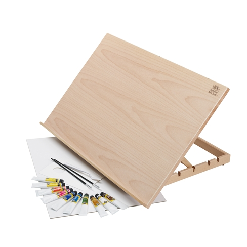 Galeria Acrylic Colour A2 Easel Set