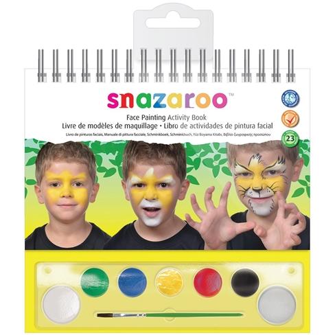 Face Paint Activity Book Snazaroo Com