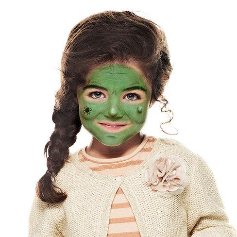 Halloween Schmink Kind.Witch Kid Face Paint Beginners Guide Snazaroo