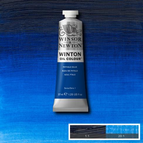 Winton Oil Colour Phthalo Blue