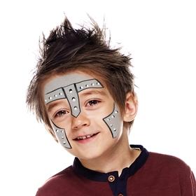 Knight Face Paint Beginners Guide Snazaroo