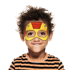 kid of steel face paint beginners guide snazaroo