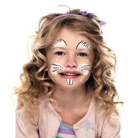 Bunny Face Paint Beginners Guide Snazaroo