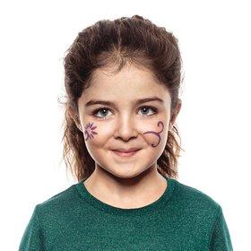 Pintura Facial Flores Rotulador De Maquillaje Snazaroo